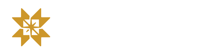 NorthStar Logo in white and gold